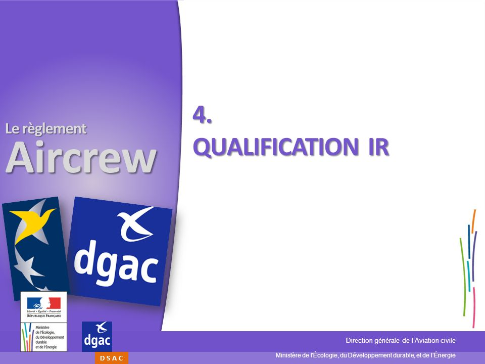 4. Qualification IR
