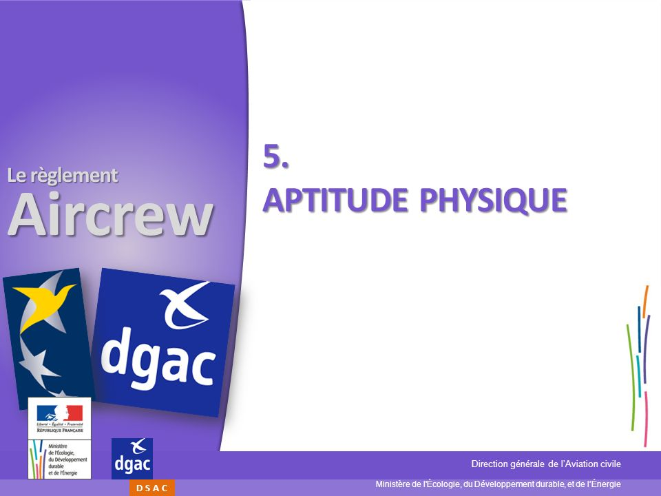 5. Aptitude physique