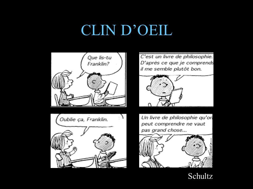 CLIN D'OEIL Schultz