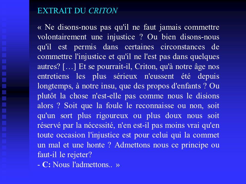 EXTRAIT DU CRITON