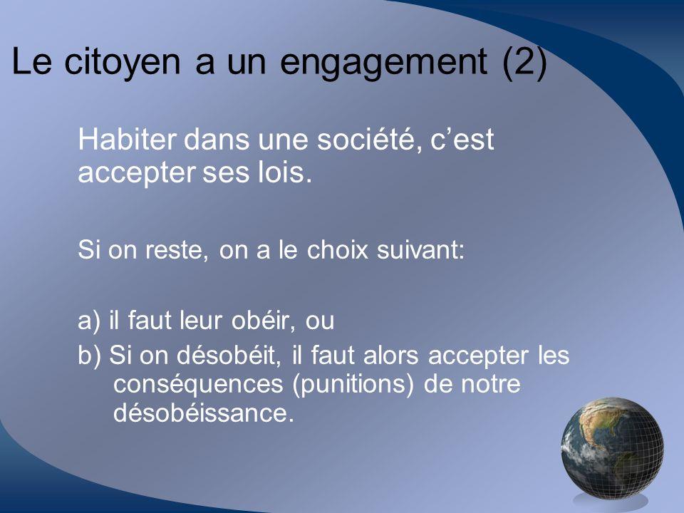 Le citoyen a un engagement (2)