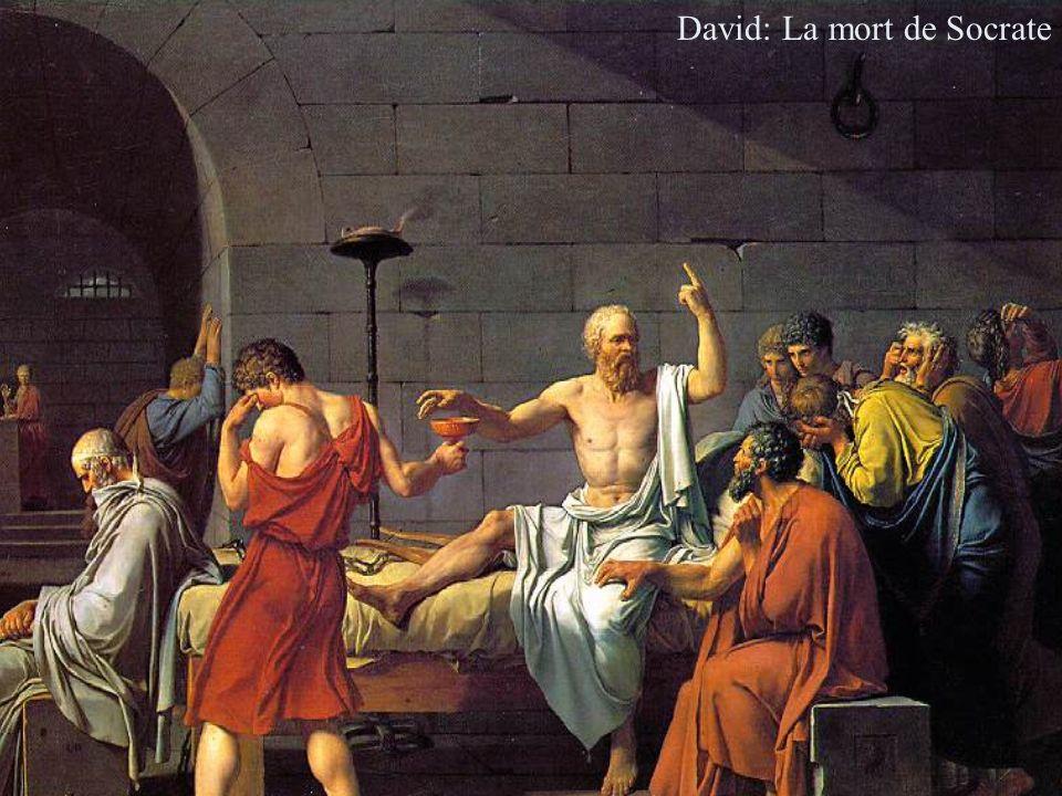 David: La mort de Socrate