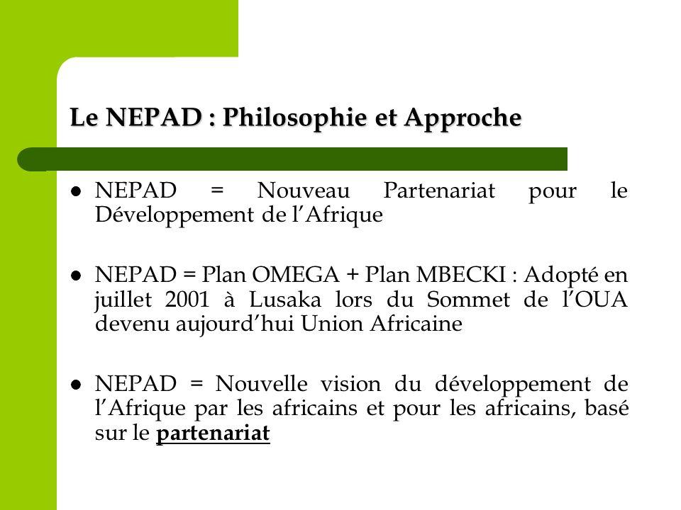 Le NEPAD : Philosophie et Approche