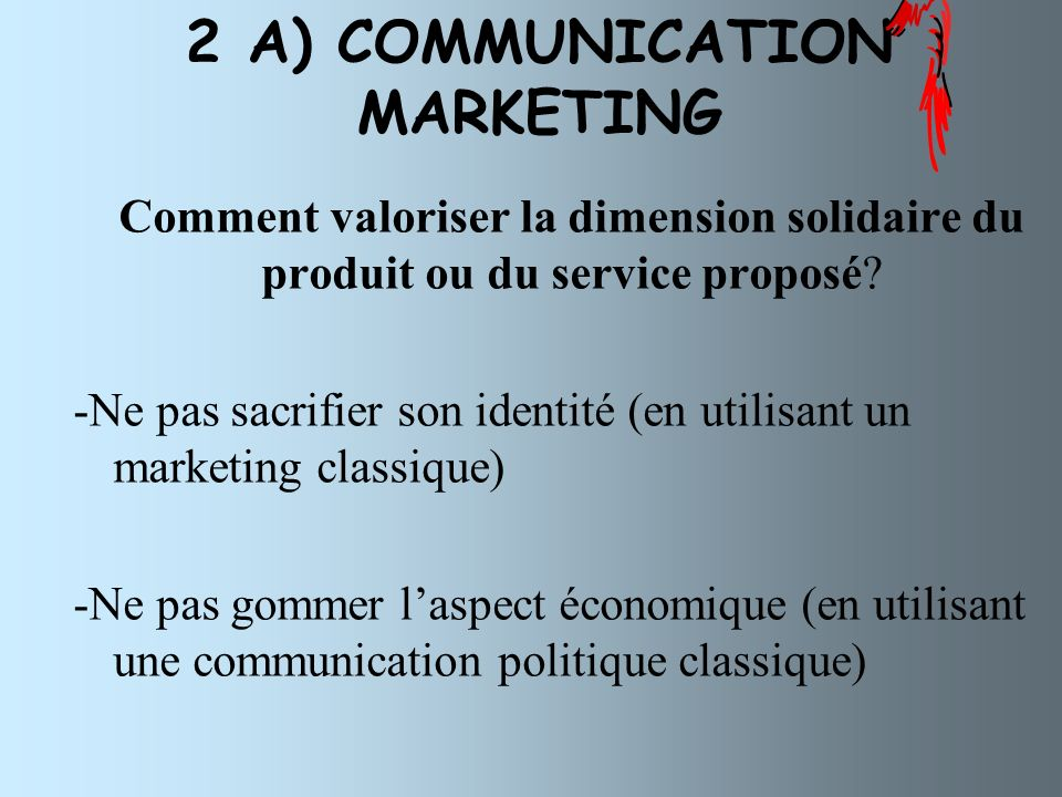 2 A) COMMUNICATION MARKETING