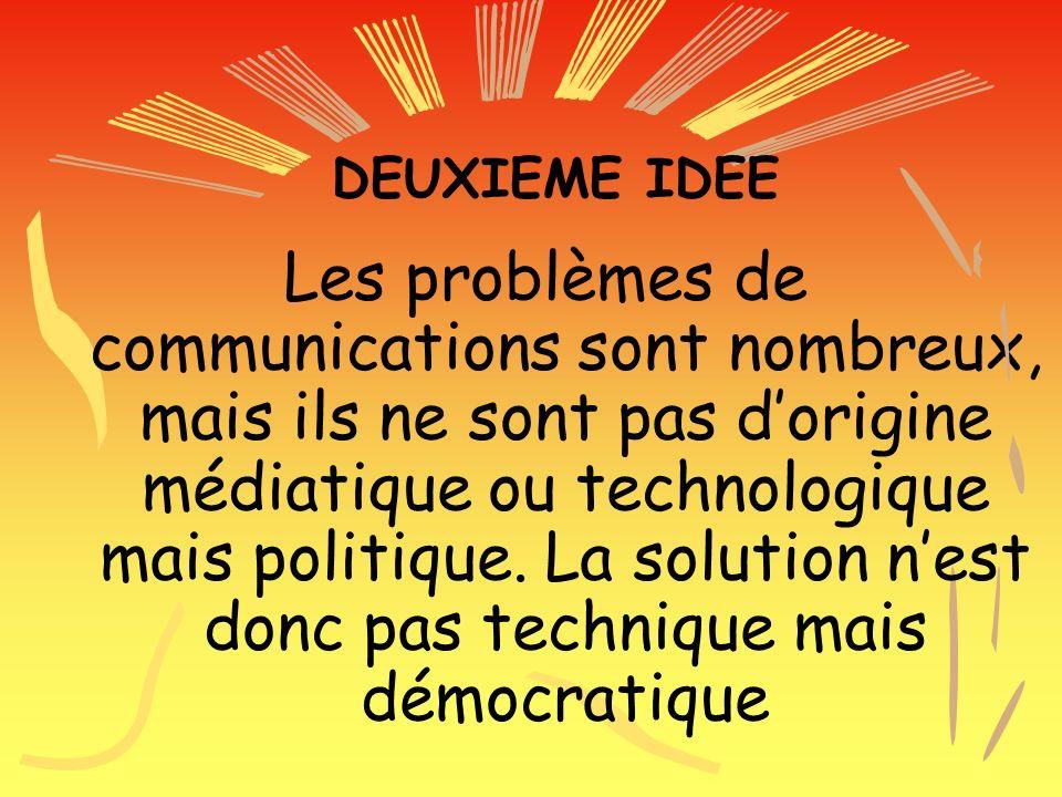DEUXIEME IDEE