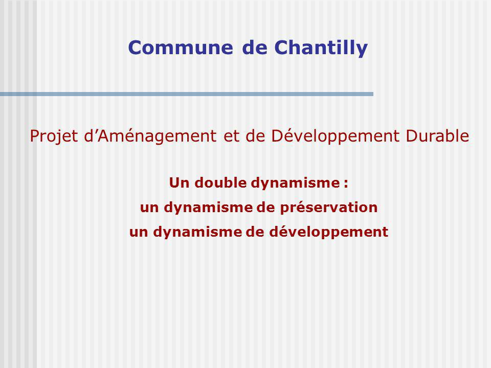 un dynamisme de préservation un dynamisme de développement