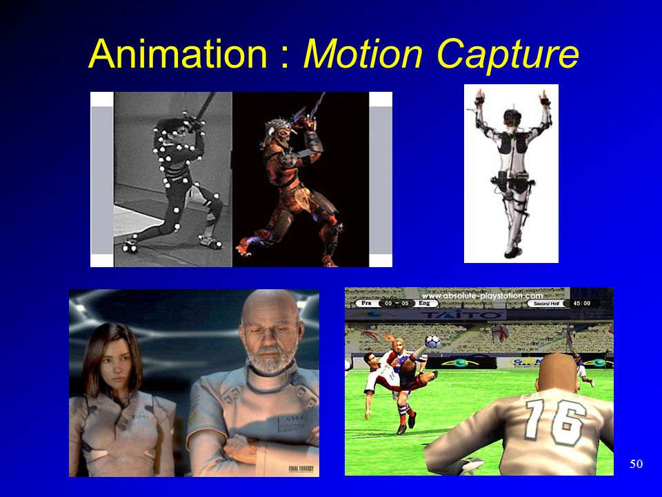Animation : Motion Capture