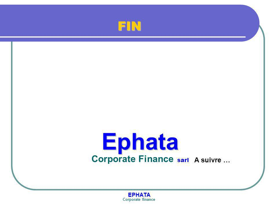 Ephata Corporate Finance sarl