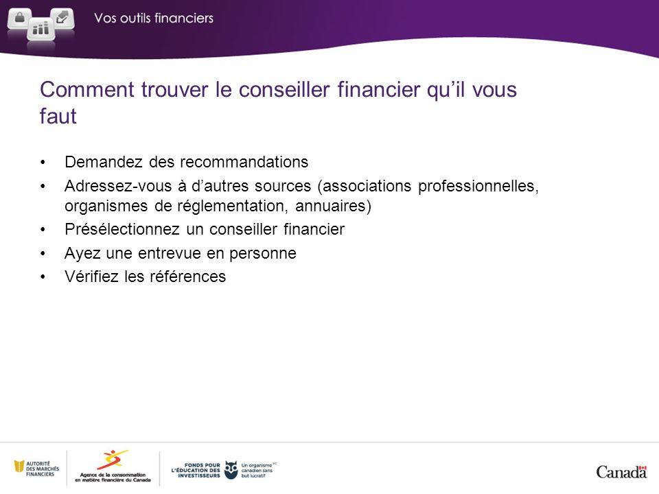 Comment trouver le conseiller financier qu'il vous faut
