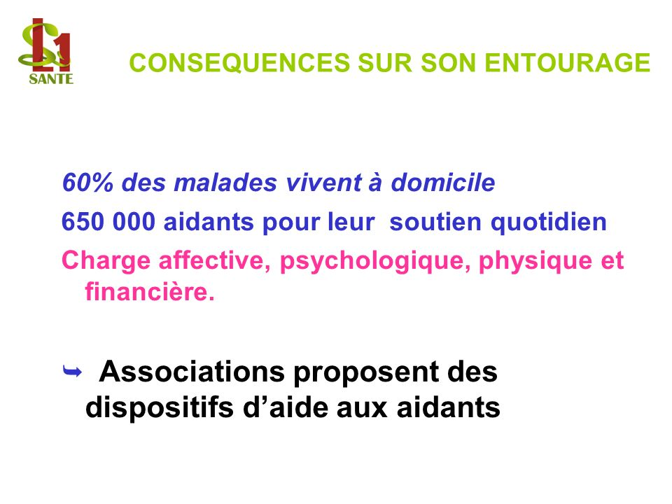 CONSEQUENCES SUR SON ENTOURAGE