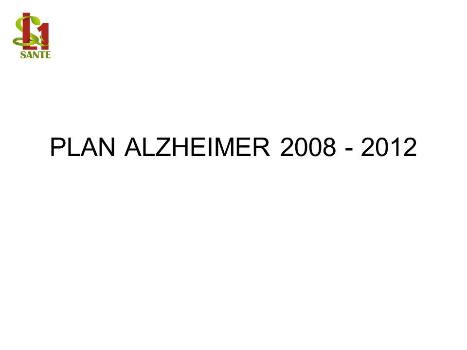 PLAN ALZHEIMER 2008 - 2012