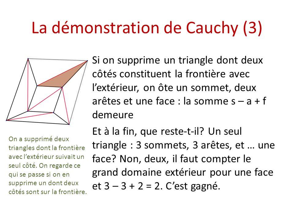 La démonstration de Cauchy (3)