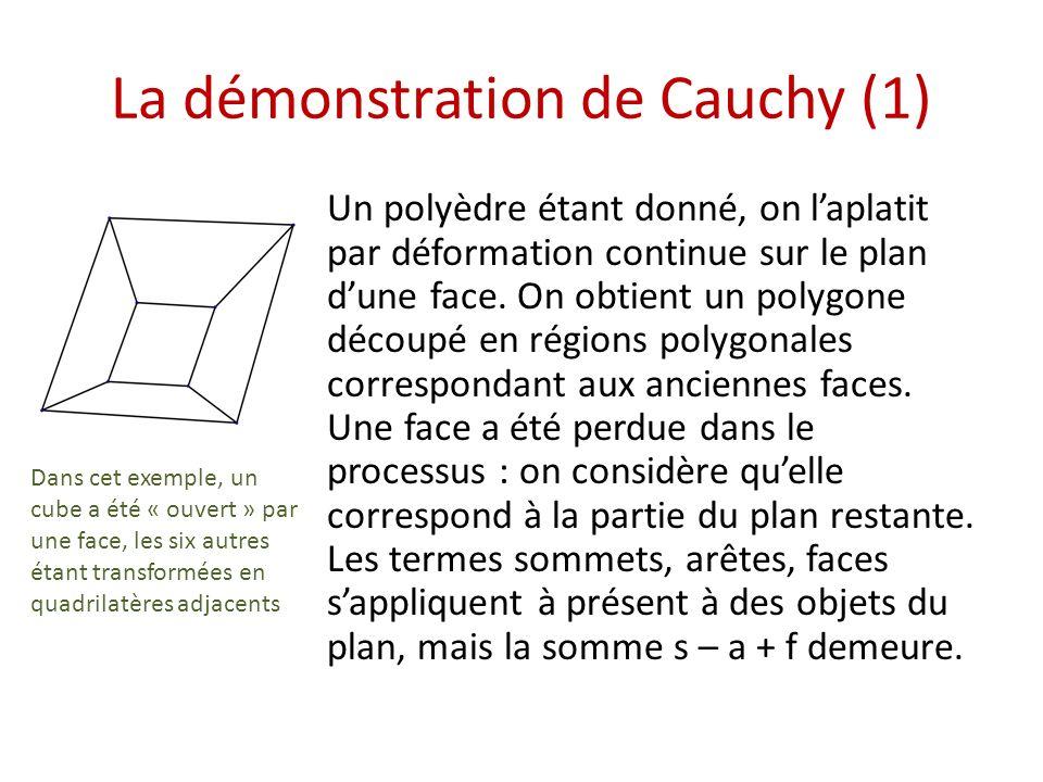 La démonstration de Cauchy (1)