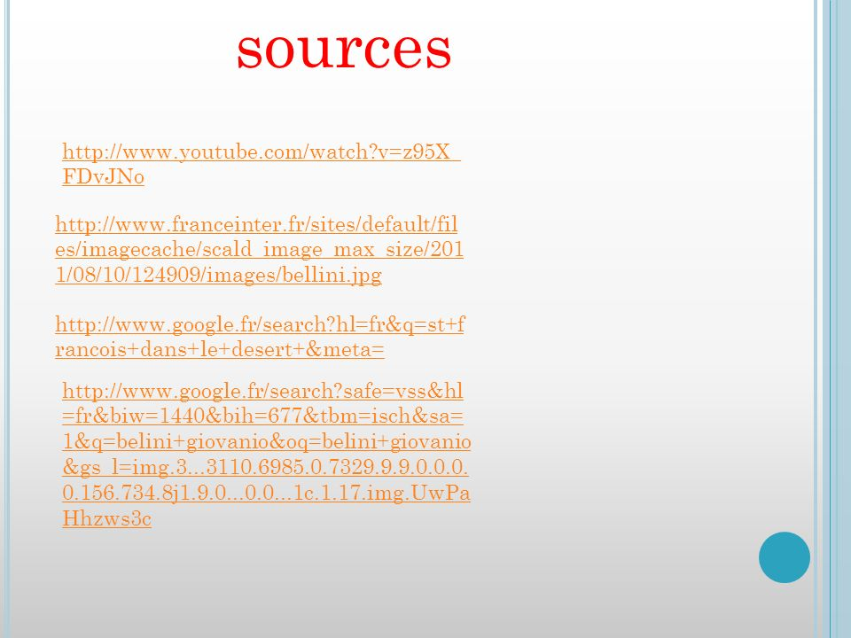 sources http://www.youtube.com/watch v=z95X_FDvJNo