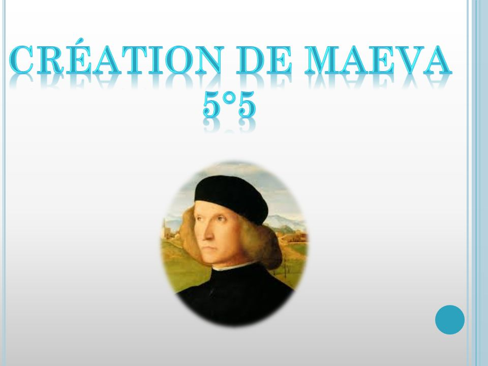 Création de Maeva 5°5