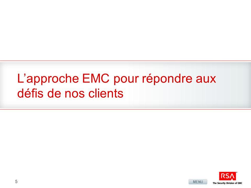L'approche EMC pour répondre aux défis de nos clients
