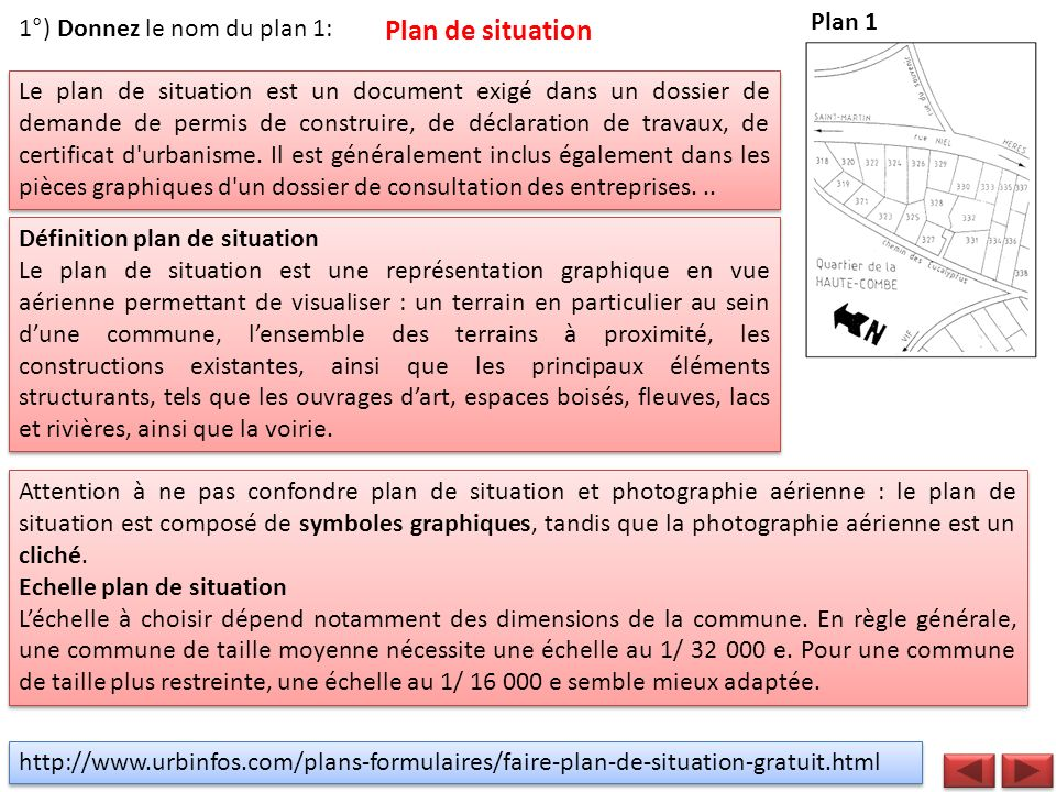 Lecture de plans du b timent td1 ppt video online for Echelle plan de situation