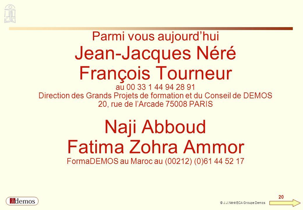 Jean-Jacques Néré François Tourneur Naji Abboud Fatima Zohra Ammor