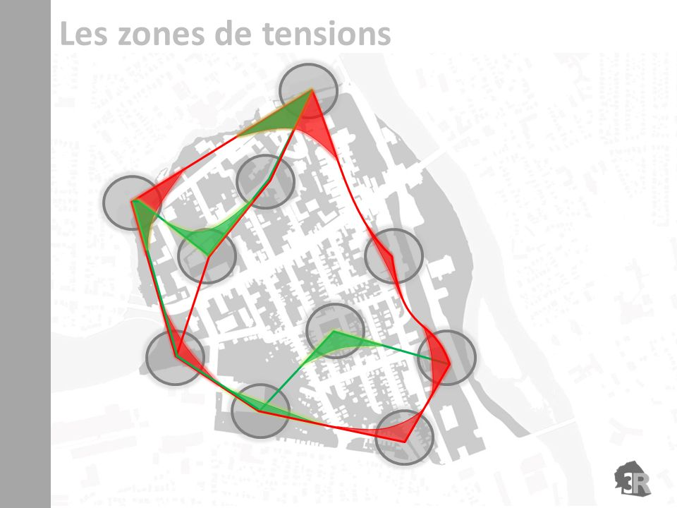 Les zones de tensions