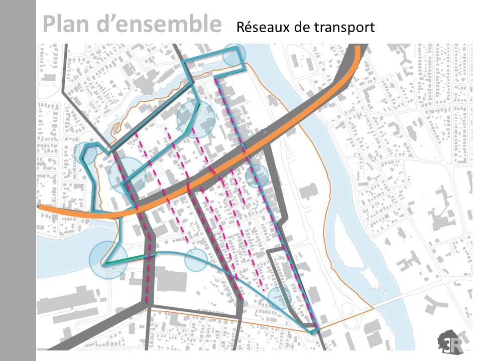 Plan d'ensemble Réseaux de transport