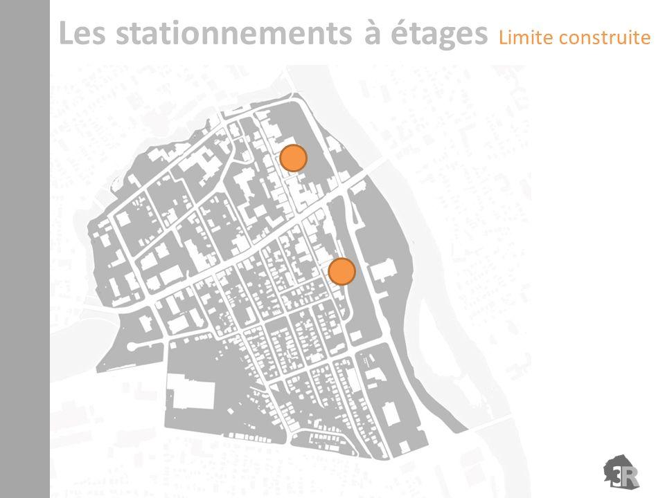 Les stationnements à étages Limite construite