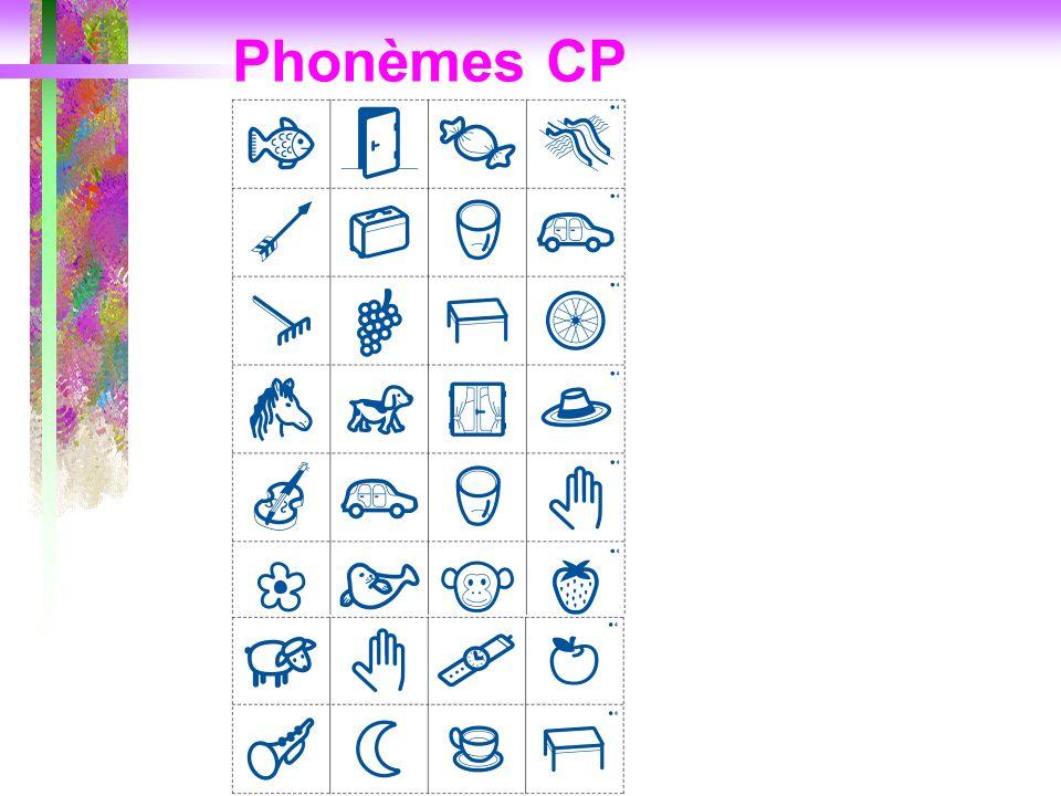 Phonèmes CP