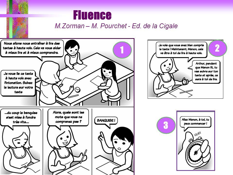 Fluence 2 1 3 M.Zorman – M. Pourchet - Ed. de la Cigale