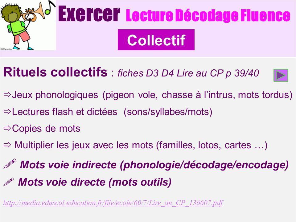 Exercer Lecture Décodage Fluence
