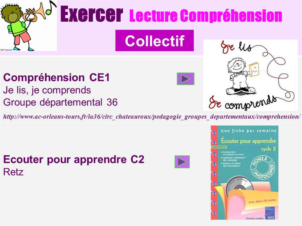 Collectif Exercer Lecture Compréhension Compréhension CE1