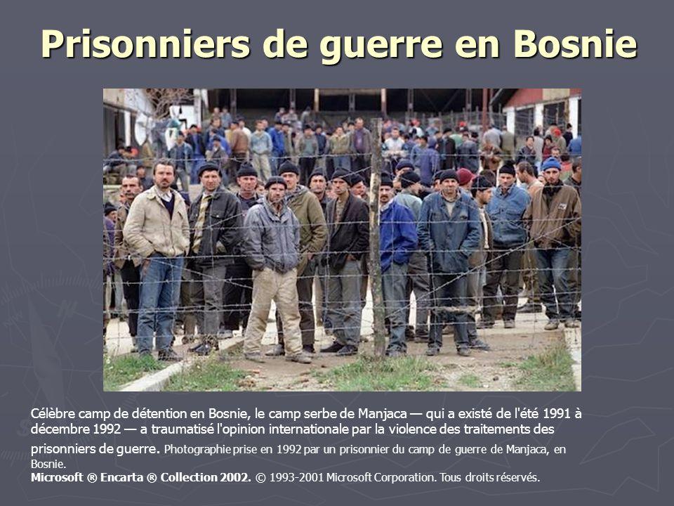Prisonniers de guerre en Bosnie