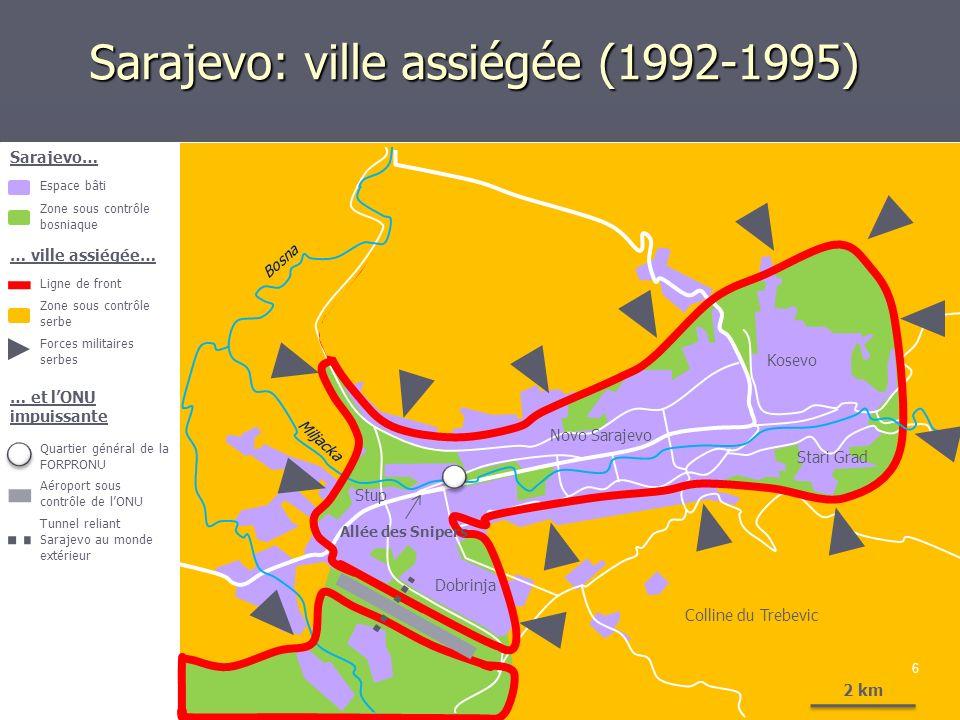 Sarajevo: ville assiégée (1992-1995)