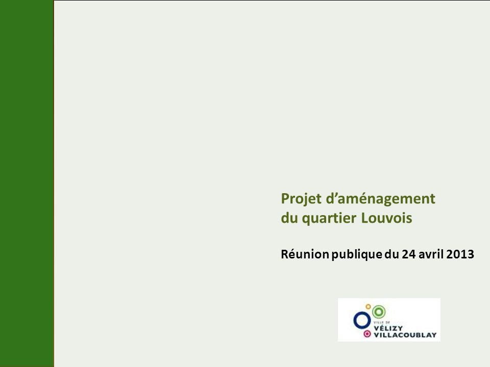 Projet d'aménagement du quartier Louvois