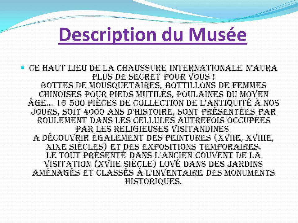 Description du Musée