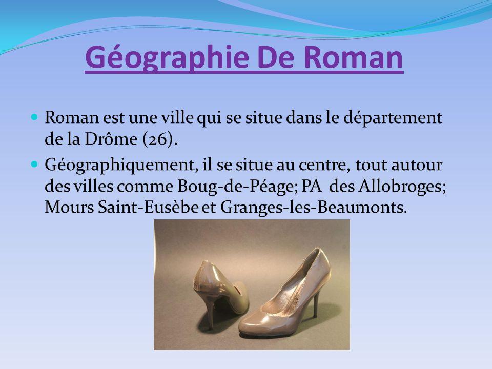 Géographie De Roman Roman est une ville qui se situe dans le département de la Drôme (26).