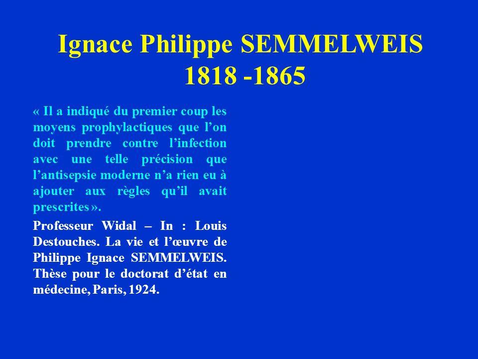 Ignace Philippe SEMMELWEIS