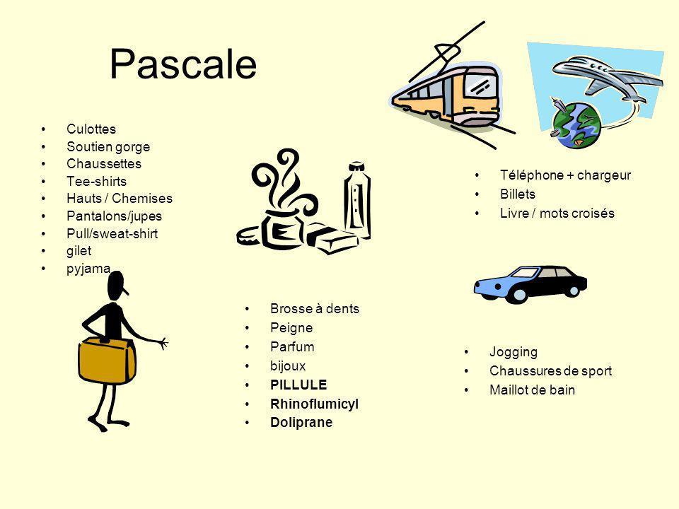 Pascale Culottes Soutien gorge Chaussettes Tee-shirts Hauts / Chemises