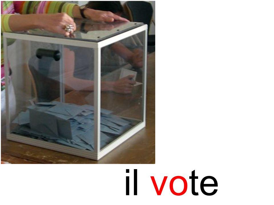 vote il vote