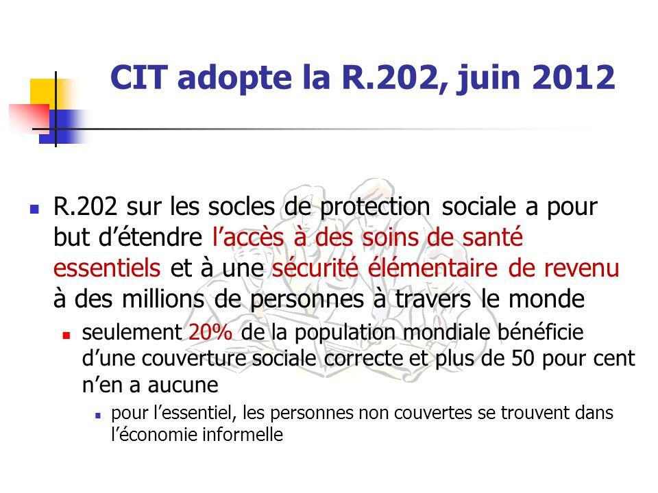 CIT adopte la R.202, juin 2012