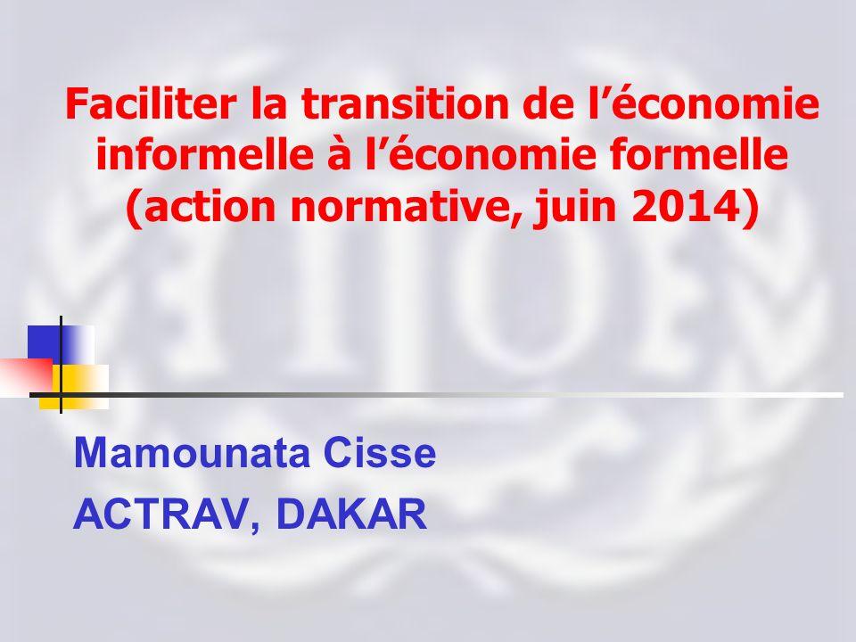 Mamounata Cisse ACTRAV, DAKAR