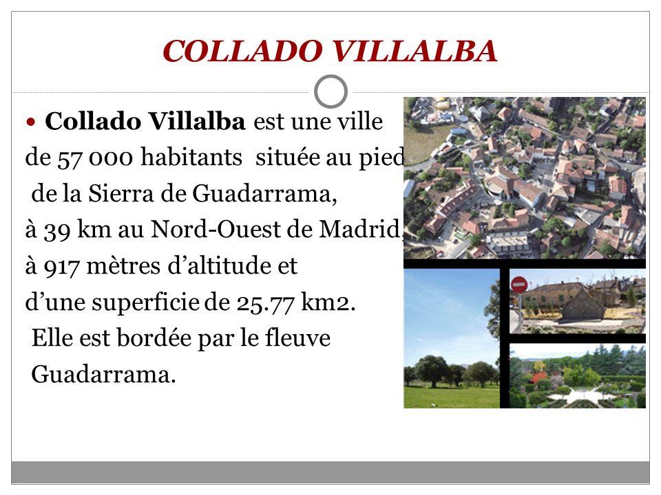COLLADO VILLALBA Collado Villalba est une ville