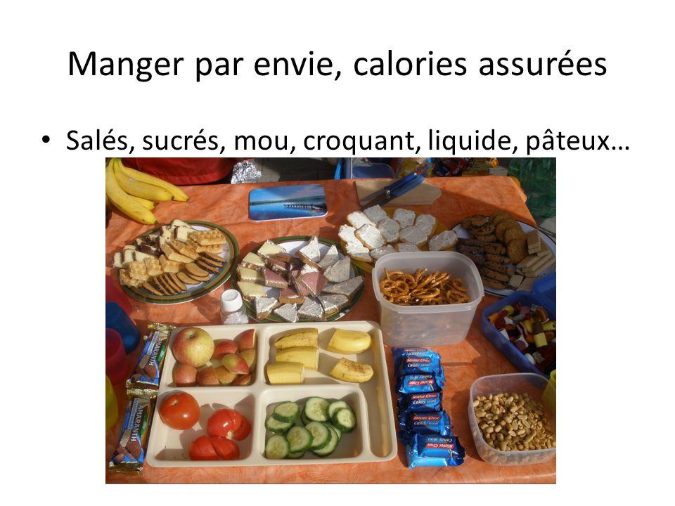 Manger par envie, calories assurées