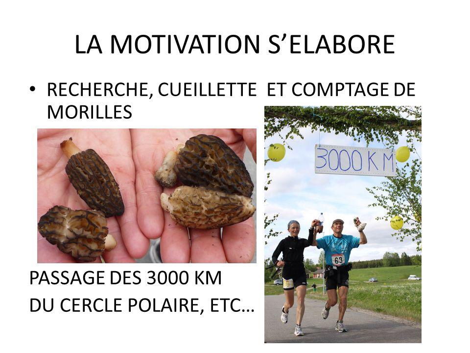 LA MOTIVATION S'ELABORE