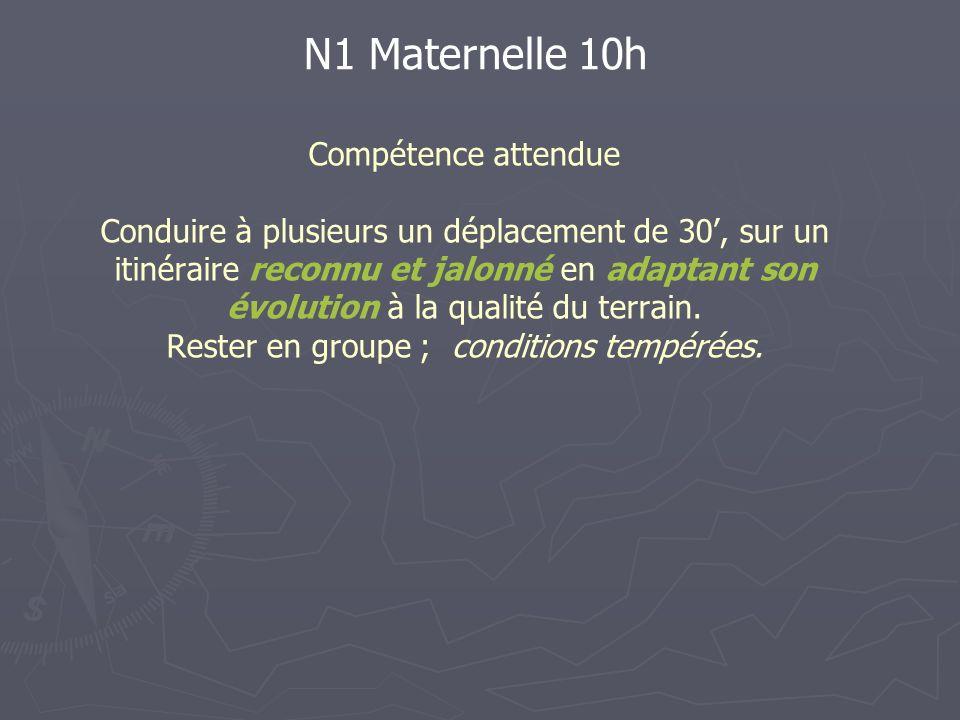 N1 Maternelle 10h