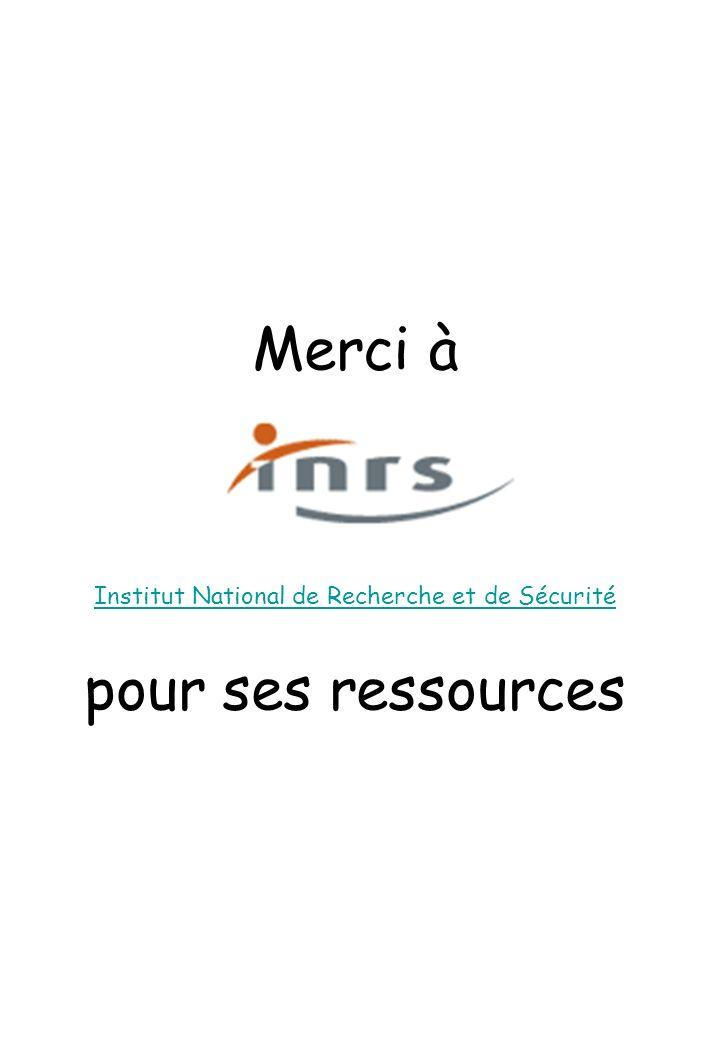 Institut National de Recherche et de Sécurité