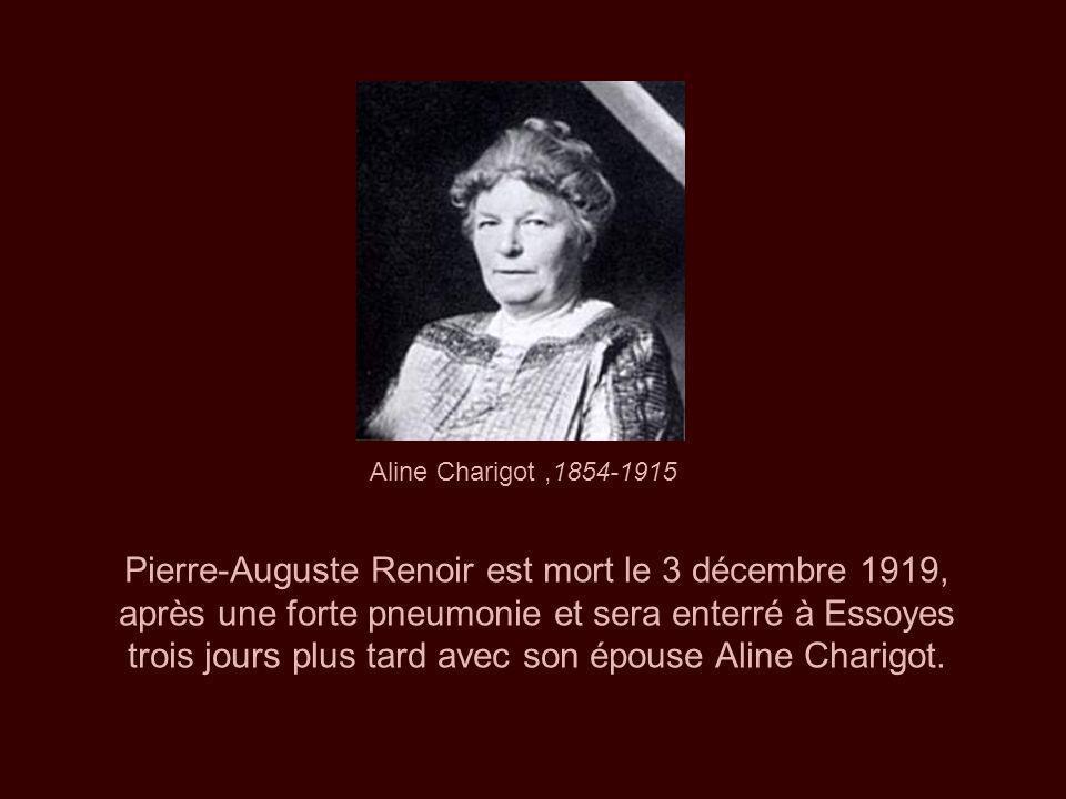 Aline Charigot ,1854-1915