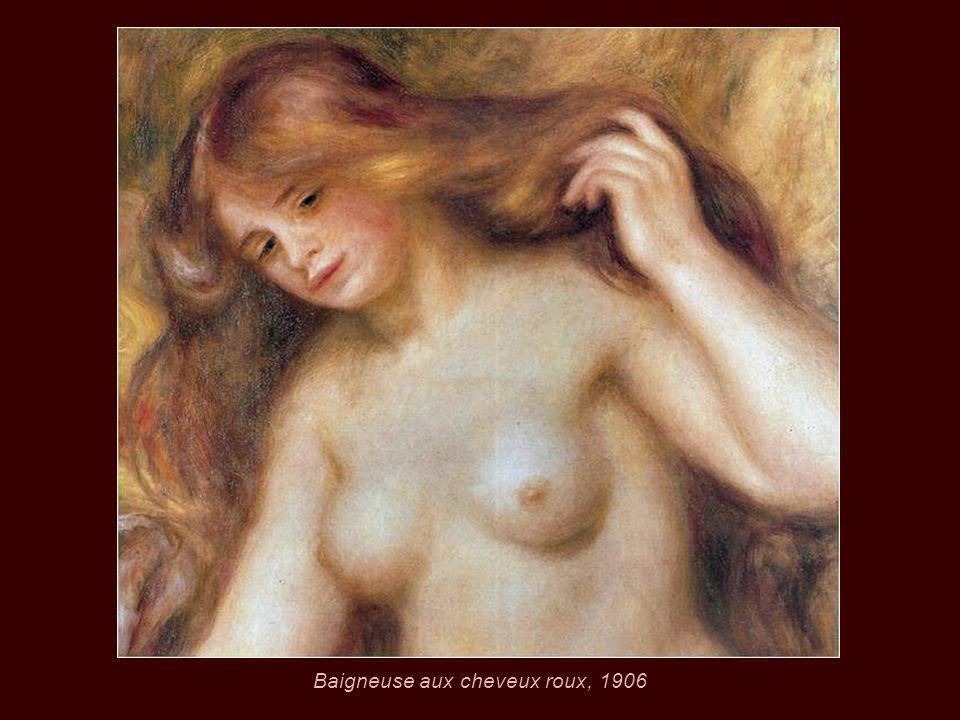 Baigneuse aux cheveux roux, 1906
