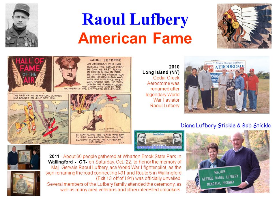 Raoul Lufbery American Fame