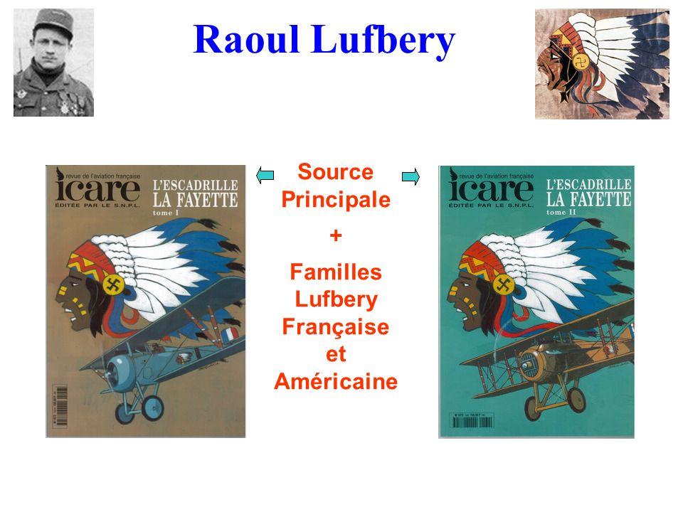 Familles Lufbery Française et Américaine