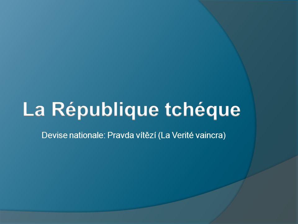 La République tchéque Devise nationale: Pravda vítězí (La Verité vaincra)