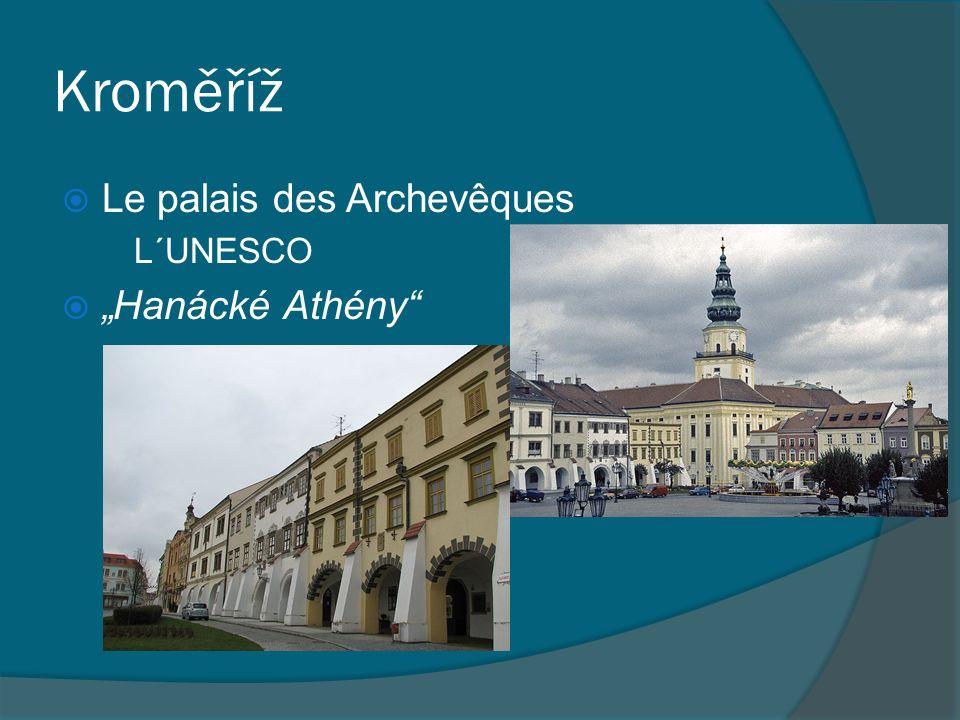 "Kroměříž Le palais des Archevêques L´UNESCO ""Hanácké Athény"